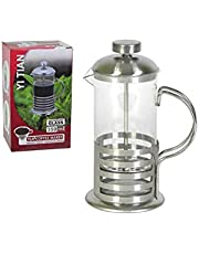 French Press Coffee Maker, Stainless Steel Coffee Press, 350ML