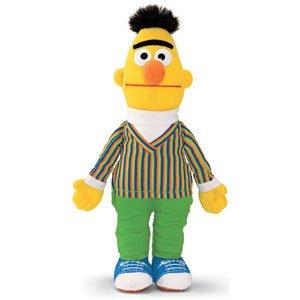 Amazon com: Sesame Street Bert Walking Finger Puppet: Toys