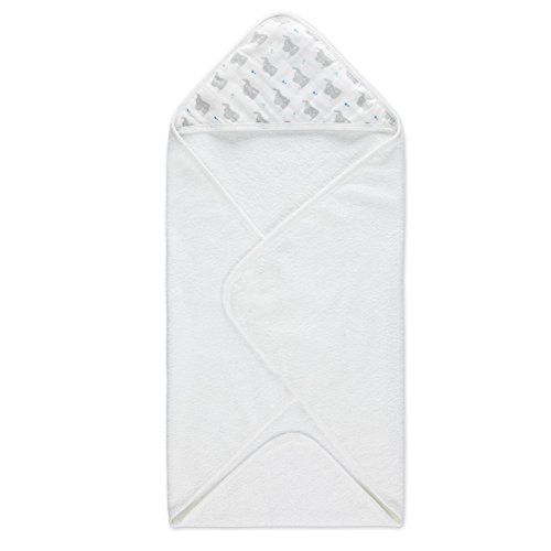 aden + anais Hooded Towel Set, Baby Star