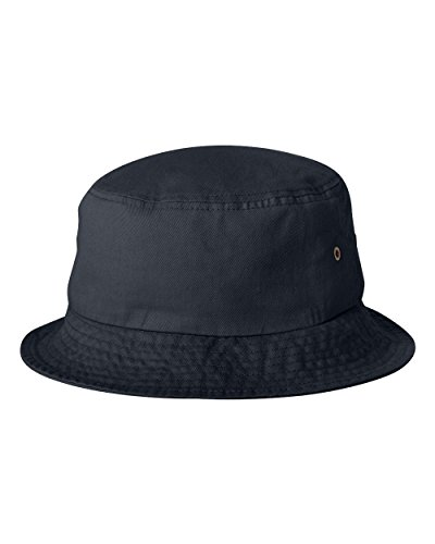 Sportsman Unisex Cotton Traditional Bucket Hat, Navy]()