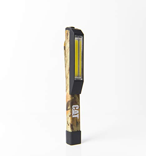 Cat CT1200 Pocket COB Light - Brilliantly Bright 175 Lumen COB LED Flood Beam Pocket Work Light, Camouflage