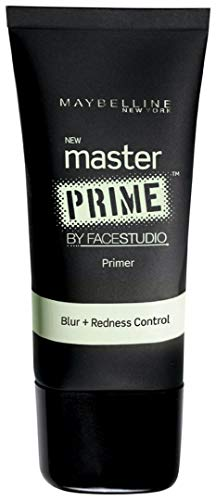 Maybelline Face Studio Master Prime Primer, Blur + Redness Control, 1 Fluid Ounce