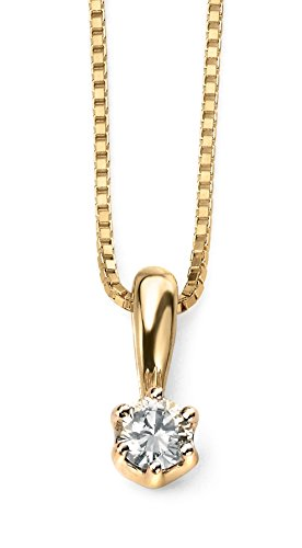 Elements - Collier - Or jaune - Diamant - 46.0 cm - GN221