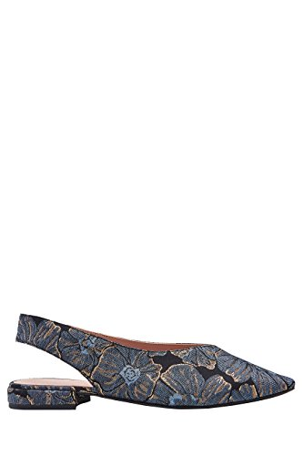 next Mujer Zapatos tira trasera punta Corte Regular Azul Floral
