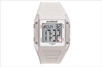 Reloj digital sumergible hasta 100 m Avatar Zoppini Unisex Mod.v1237-avt04: Amazon.es: Jardín
