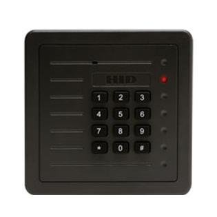 Hid Proxpro Reader - HID 5355AGS00 Proxpro Proximity Card Reader with Keypad - Requires a 7 conductor keypad cable (not included)