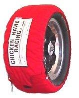 Chicken Hawk Racing A-DTC-16/88-92 - Auto Standard Model Tire Warmers - Width: 16' (406mm)/Circum: 88-92' (2230-2330 mm)