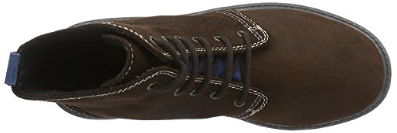 Richter Kinderschuhe Boys' Dragon Warm lined combat boots short length Brown Size: 1 UK