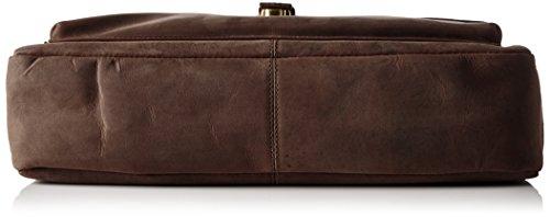 Aprox 29 9 Cuero x Bolso 38 cm Tyler de Cuero Encerado Vintage de búfalo x Bristol Coffee de James wa71O4qO