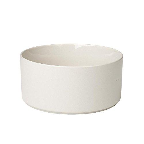 blomus MIO Ceramic Serving Bowl 8 Inch Moonbeam - Cream