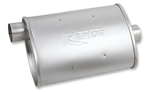 Flowtech 50051FLT Raptor Turbo Performance Muffler - Flowtech Exhaust