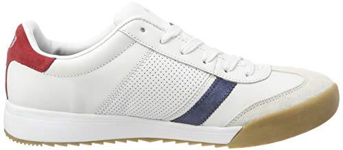 Wrd Zapatillas Hombre Red Para white Skechers Zinger Blanco 4q0xa