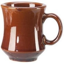 Vertex China NPT-C Brown Accessories Caramel Newport Mug, 3-1/4