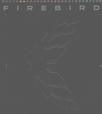 1999 Pontiac Firebird TransAm Ram Air Sales Brochure Calendar ()