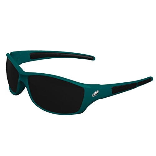 FOCO NFL Philadelphia Eagles Sports Fan Sunglasses, Team Color, One ()