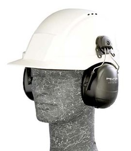 3M (HTM79P3E-CSA) Listen Only Headset HTM79P3E-CSA, Intrinsically Safe, Hard Hat Attach