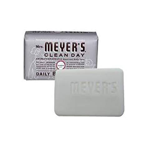 (2 Packs of Mrs. Meyer's Bar Soap - Lavender - 5.3 Oz)