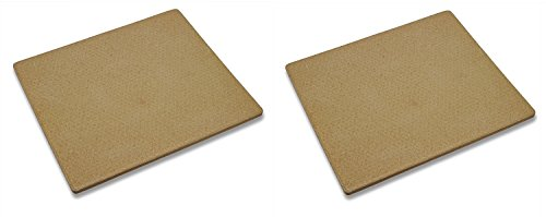 Old Stone Oven Rectangular Pizza Stone (Pack of 2) by Old Stone Oven