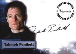Smallville Season 6 A50 Tahmoh Penikett Autograph Card