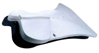 Roma Orig Riser Close Contact Saddle Pad Black (Riser Saddle Pad)