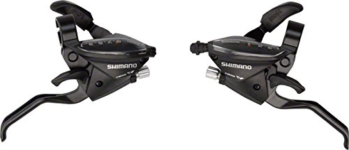 Shimano EF510 3x9-Speed Brake/Shift Lever Set Black