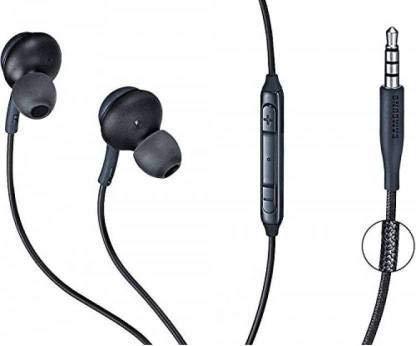 GO SHOPS In Ear Headphone with Mic  Multicolour