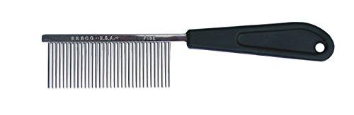 Resco Professional Anti-Static Best Cat Comb for Grooming, Fine Pin - Fine Medium Comb