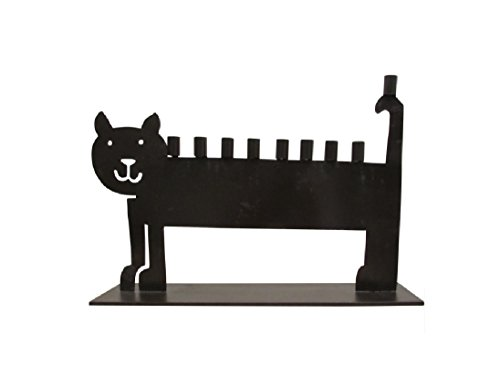 Cat Menorah (Metal Cat Menorah)
