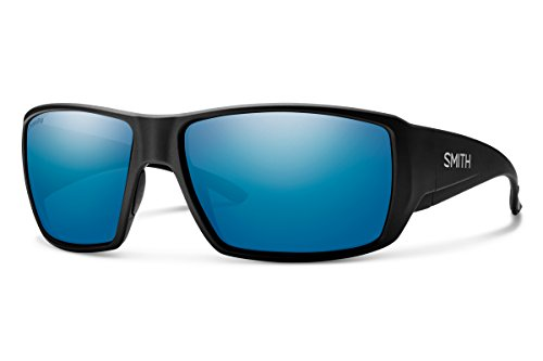 - Smith Guides Choice Chroma Pop Polarized Sunglasses, Matte Black