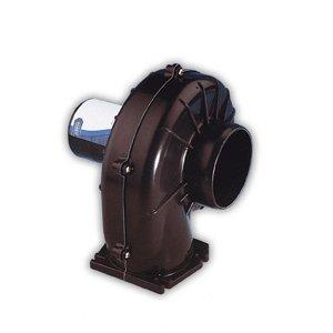 Jabsco 34739-0020 Flange Mount Blower, 3 inch, 150 CFM, 24 Volt DC
