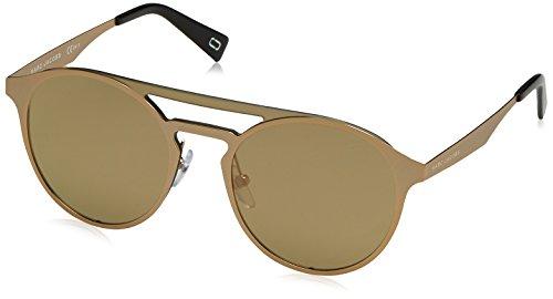 Marc Jacobs Women's Round Aviator Sunglasses, Gold/Ivory, One - Round Jacobs Sunglasses Marc