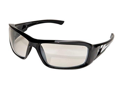 - Edge Eyewear XB111AR Brazeau Safety Glasses, Black with Clear Anti Reflective Lens