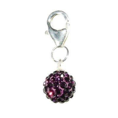Hidden Gems (TSS014) Sterling Silver Clasp Charm