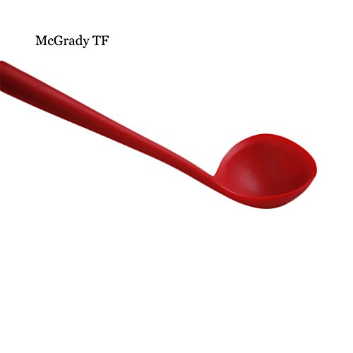 Vistaric XL Size Silicone Ladle Spoon In Hygienic Solid Coating Soup Ladle Silicone Kitchen Tools