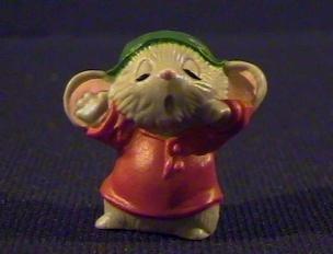 Hallmark Merry Miniature Mini Mouse Yawning 1983