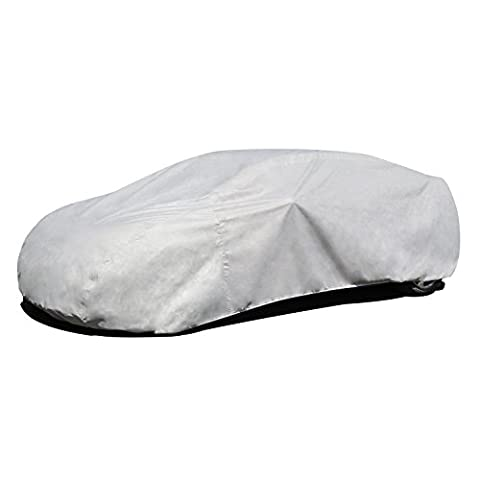 Budge Lite Car Cover Fits Sedans up to 228 inches, B-4 - (Polypropylene, Gray) - 1968 Mercury Comet