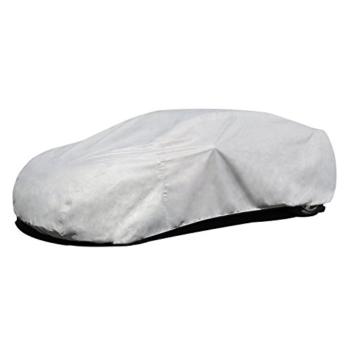 Budge Lite Car Cover Fits Sedans up to 228 inches, B-4 - (Polypropylene, Gray) by Budge
