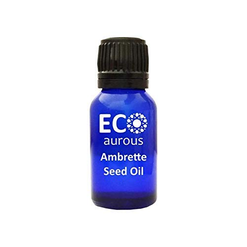 Ambrette Seed Oil (Abelmoschus Moschatus) 100% Natural, Organic, Vegan & Cruelty Free Ambrette Seed Essential Oil | Pure Ambrette Seed Oil By Eco Aurous (0.50 oz, 15 ml)