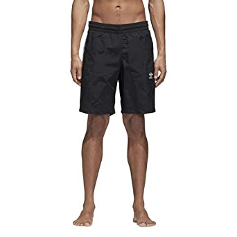 c09f782bb1 adidas Originals Men's 3-Stripes Swim Trunks, Black, X-Small