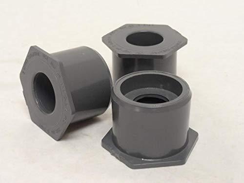 Sch 80 Pvc Reducer - Nibco 837-210 Lot-3 SCH: 80 PVC Reducers, 1-1/2