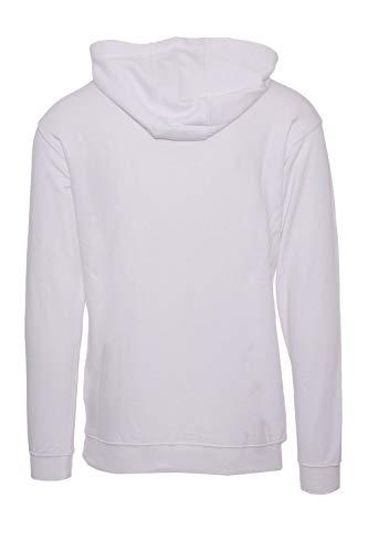 681462m67 Sweatshirt Coton Fila Homme Blanc TxqnaHwa