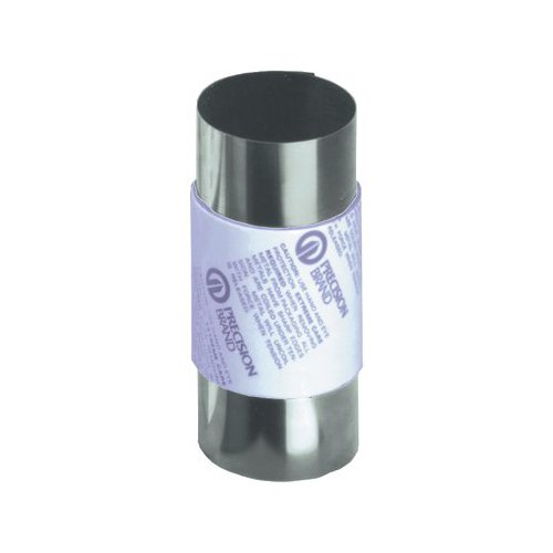 Precision Brand 039-22974 0.2 mm Steel Shim Stock 150 mm x 1.25M Roll, Full Hard, Cold Rolled, 302 Stainless Steel