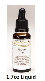 Newton Labs Homeopathics Remedy Poison Ivy 1.7oz Liquid (Poison Remedies Homeopathic Ivy)
