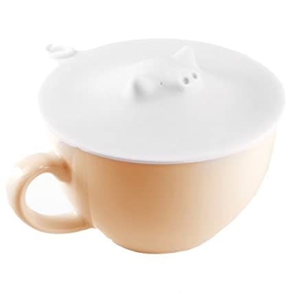 0dc889ea50b Marna White Piggy Cup Cover, 4-1/3