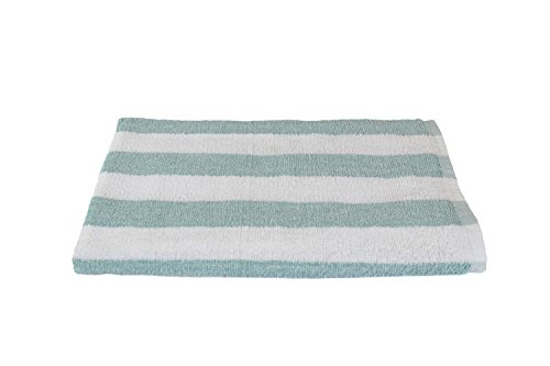 - Luxuriously Oversized Bleach Safe Beach Towel Cabana Stripe- Fibertone by 1888 Mills, Made in the USA