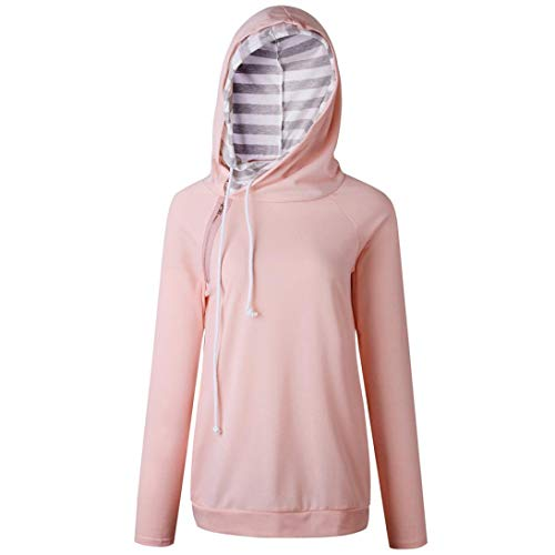Col DAYLIN V Courtes Rose Solid Dcontract Chemisier Top Manches Femme rqrI4