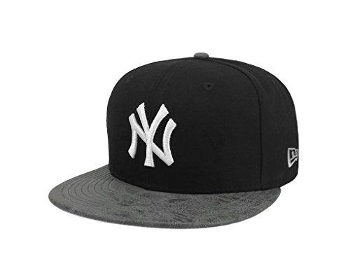 - New Era 9Fifty Hat MLB New York Yankees Rustic Vize Black/Gray Snapback Cap