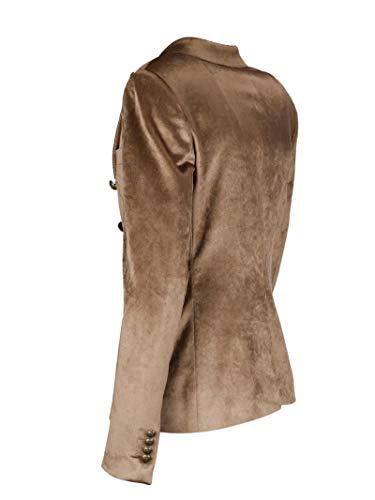 Mujer Tagliatore Jalicyai2002a1416 Ropa Marrón Algodon 1ddnx