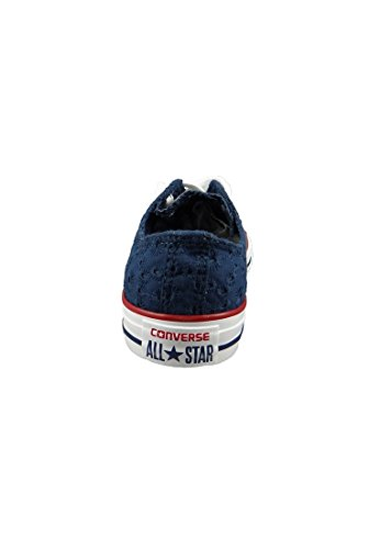 Converse All Star Ox Womens Sneakers Blue Navy Garnet 5Vo2h