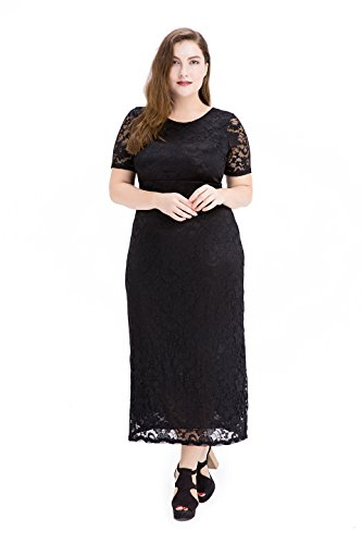 Esprlia-Womens-Full-Lace-Plus-Size-Wedding-Evening-Party-Maxi-Dress